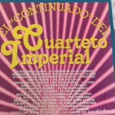 Discos de vinilo: LP CUARTETO IMPERIAL-EL CONTINUADO-PROMO. Lote 87167040