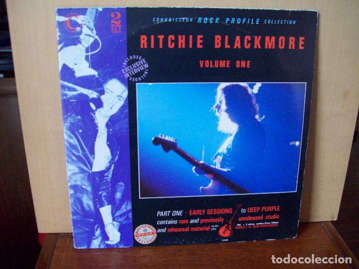 RITCHIE BLACKMORE - VOLUME ONE - DOBLE LP CARPETA ABIERTA FABRICADO EN INGLATERRA (Música - Discos - LP Vinilo - Heavy - Metal)