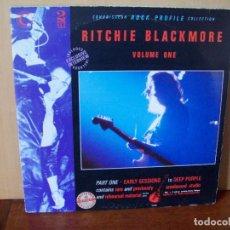 Discos de vinilo: RITCHIE BLACKMORE - VOLUME ONE - DOBLE LP CARPETA ABIERTA FABRICADO EN INGLATERRA. Lote 87169276