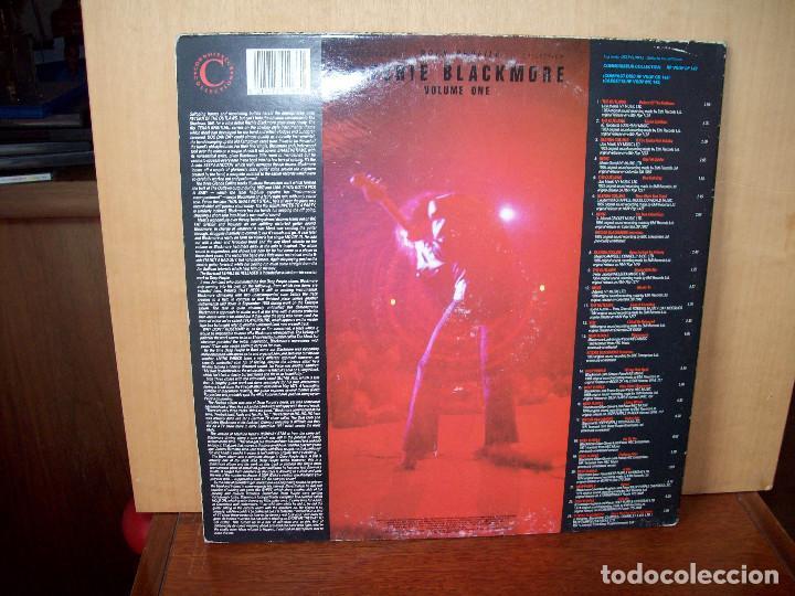 Discos de vinilo: RITCHIE BLACKMORE - VOLUME ONE - DOBLE LP CARPETA ABIERTA FABRICADO EN INGLATERRA - Foto 2 - 87169276