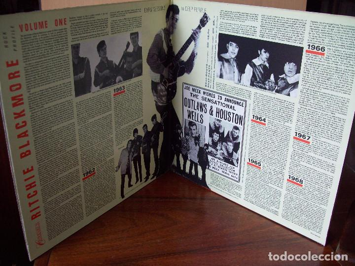 Discos de vinilo: RITCHIE BLACKMORE - VOLUME ONE - DOBLE LP CARPETA ABIERTA FABRICADO EN INGLATERRA - Foto 3 - 87169276