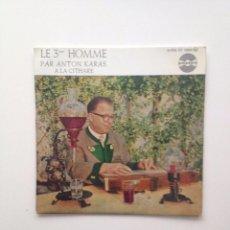 Discos de vinilo: BSO : EL TERCER HOMBRE+3 POR ANTON KARAS /FRANCE-EP. Lote 87179788