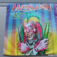 Discos de vinilo: 7'' MARILLION - GARDEN PARTY (THE GREAT CUCUMBER MASSACRE) - EMI UK 1983 VG/VG+. Lote 87179992