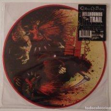 Discos de vinilo: CHILDREN OF BODOM...HELLHOUNDS ON MY TAIL.(SPINEFARM RECORDS 2008).UK & EUROPE.. Lote 87189544