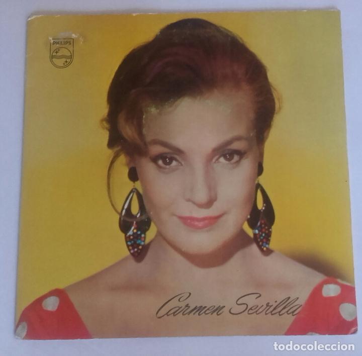 CARMEN SEVILLA - FLAMENCA YEYÉ - TYPICAL SPANISH - SINGLE PHILIPS 1965 (Música - Discos - Singles Vinilo - Solistas Españoles de los 50 y 60)