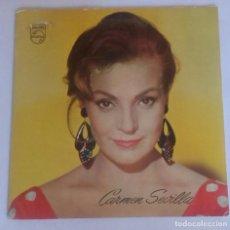 Discos de vinil: CARMEN SEVILLA - FLAMENCA YEYÉ - TYPICAL SPANISH - SINGLE PHILIPS 1965. Lote 87189564