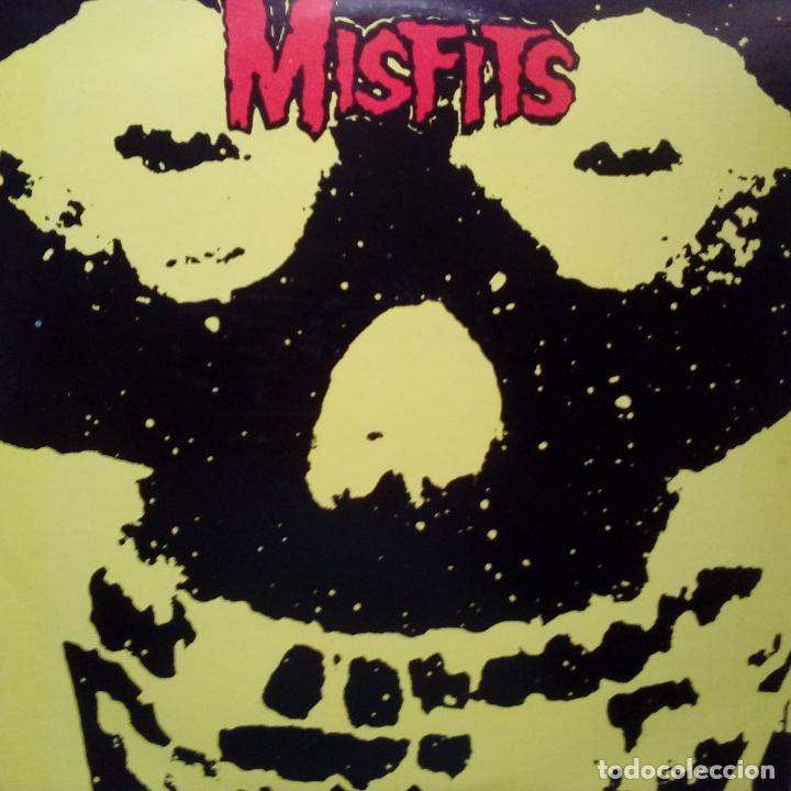 MISFITS- USA LP 1988- PLAN 9/ CAROLINE- GLENN DANZIG- VINILO COMO NUEVO. (Música - Discos - LP Vinilo - Punk - Hard Core)