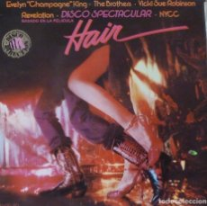 Discos de vinilo: HAIR - INSPIRED BY THE FILM. Lote 87210316