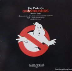 Discos de vinilo: GHOSTBUSTERS MAXI SINGLE. Lote 92707009