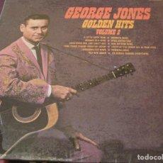 Discos de vinilo: LP- GEORGE JONES GOLDEN HITS VOL.2 UNITED ARTISTS 6566 USA 1967 COUNTRY. Lote 87211128