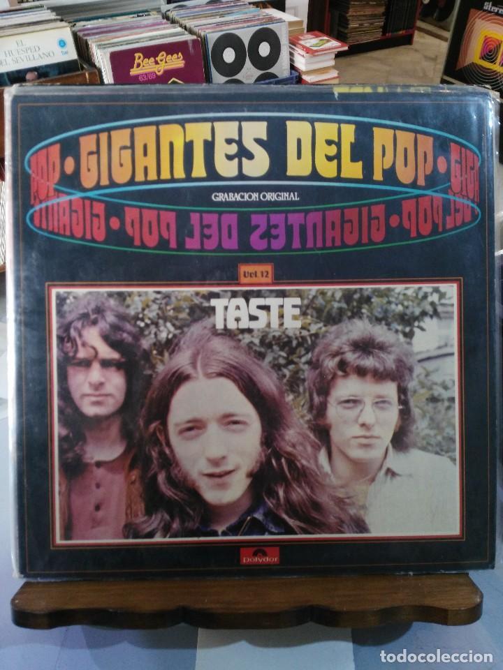 TASTE - GIGANTES DEL POP - LP. DEL SELLO POLYDOR 1981 (Música - Discos - LP Vinilo - Pop - Rock - Extranjero de los 70)