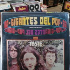 Discos de vinilo: TASTE - GIGANTES DEL POP - LP. DEL SELLO POLYDOR 1981. Lote 87220360