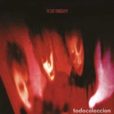 Discos de vinilo: LP THE CURE PORNOGRAPHY VINILO REMASTERED BY ROBERT SMITH GOTH. Lote 118783007