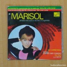 Discos de vinil: MARISOL - MI CARRETERA + 3 - EP. Lote 87226980