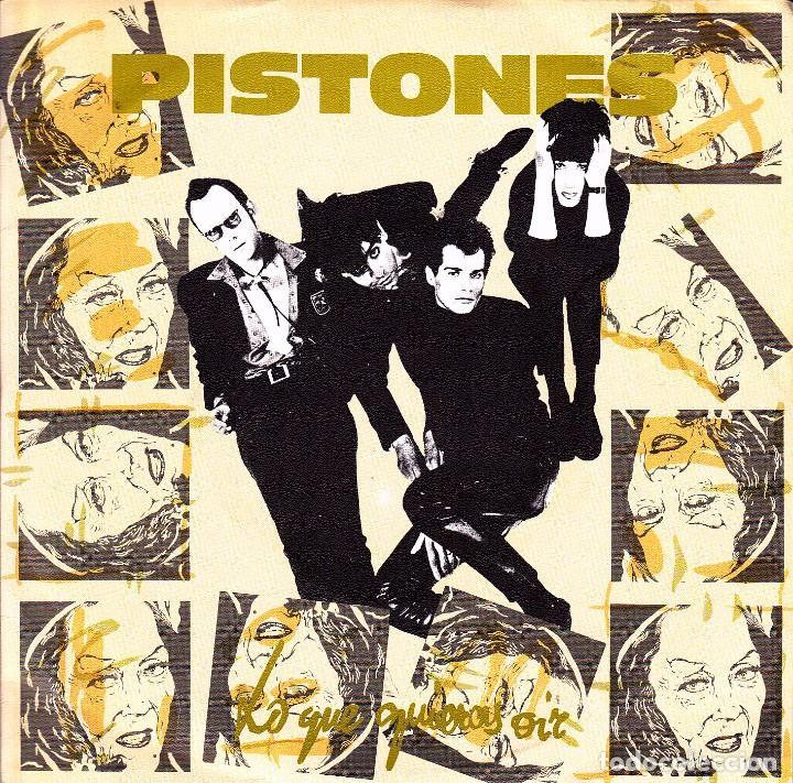 PISTONES - LO QUE QUIERES OIR + ULTIMO SOLDADO SINGLE SPAIN PROMO 1984 EXCELLENT CONDITION (Música - Discos - Singles Vinilo - Grupos Españoles de los 70 y 80)