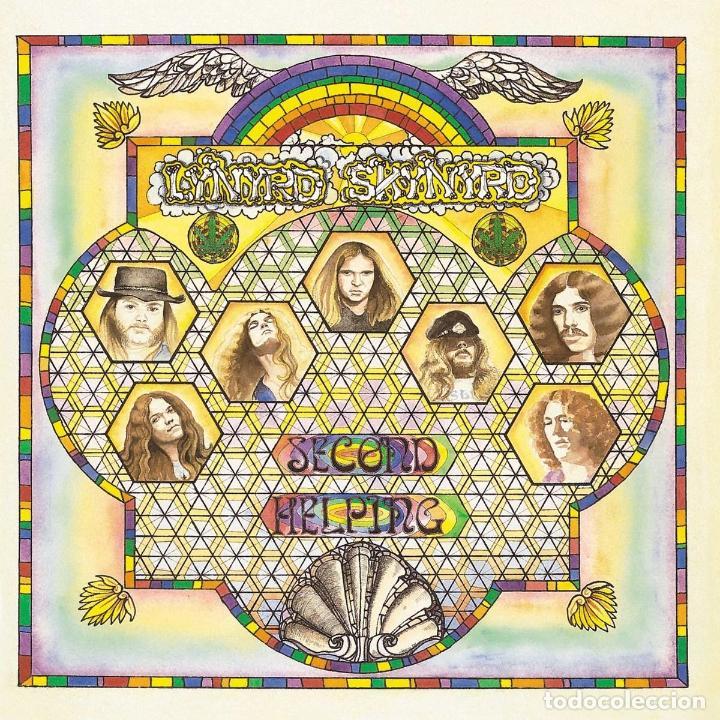 LP LYNYRD SKYNYRD SECOND HELPING VINILO (Música - Discos - LP Vinilo - Pop - Rock - Extranjero de los 70)