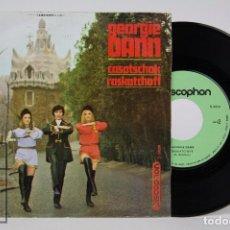 Discos de vinilo: DISCO SINGLE DE VINILO - GEORGIE DANN. CASATSCHOK / RASKATCHOFF - DISCOPHON, 1969. Lote 87229376