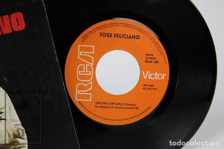 Discos de vinilo: Disco Single de Vinilo - José Feliciano. Qué Será - RCA, 1971 - Foto 2 - 87229456
