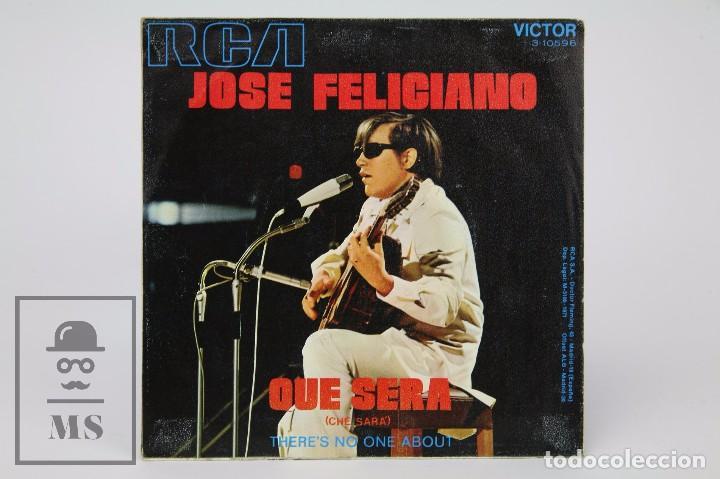 Discos de vinilo: Disco Single de Vinilo - José Feliciano. Qué Será - RCA, 1971 - Foto 3 - 87229456