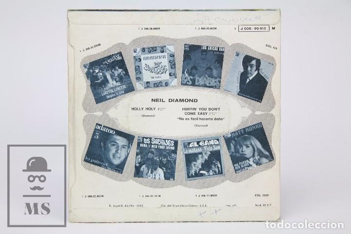 Discos de vinilo: Disco Single de Vinilo - Neil Diamond. Holly Holy - EMI, 1969 - Foto 3 - 87229540