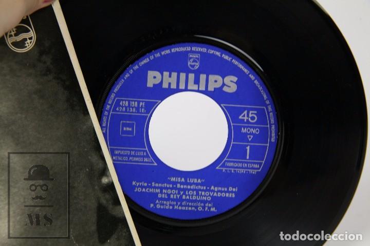 Discos de vinilo: Disco Single de Vinilo - Misa Luba. Kyrie / Sanctus... - Philips, 1962 - Foto 2 - 87230736