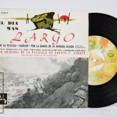 Discos de vinilo: DISCO EP DE VINILO - BSO EL DÍA MÁS LARGO - BARCLAY, 1962. Lote 87231196