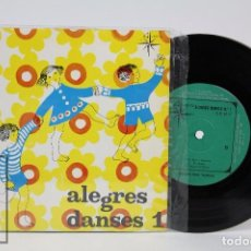 Discos de vinilo: DISCO EP DE VINILO - ALEGRES DANSES. ORQUESTA HENRI VEYSSEYRE - ALS 4 VENTS, 1969. Lote 87231608