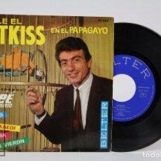 Discos de vinilo: DISCO EP DE VINILO - DUBE Y SU CONJUNTO. BAILE EL LETKISS EN EL PAPAGAYO - BELTER, 1964. Lote 87231716