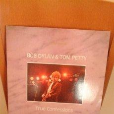 Discos de vinilo: BOB DYLAN & TOM PETTY. TRUE CONFESSIONS. AUSTRALIA 1986. 2 LPS. BOOTLEG RECORD.MUY RARO.. Lote 87238292