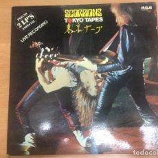 Discos de vinilo: LP HEAVY METAL SCORPIONS/TOKYO TAPES DOBLE DIRECTO RCA ESPAÑA 1978. Lote 87240568