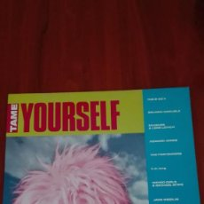 Discos de vinilo: TAME YOURSELF LP WEA GERMANY - THE PRETENDERS, NINA HAGEN, ERASURE. Lote 87241940