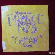 Discos de vinilo: PRINCE & THE NEW POWER GENERATION /GETT OFF / HORNY PONY / WEA 1991, GERMANY. Lote 257399000