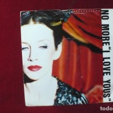 Discos de vinilo: ANNIE LENNOX / NO MORE I LOVE YOU'S / LADIES OF THE CANYON / RCA, 1995, INGLES. . Lote 87255040