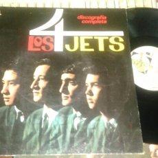 Discos de vinilo: LOS 4 JETS LP.HISTORIA DE LA MUSICA POP. Lote 87255364