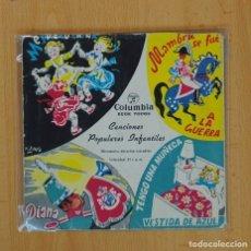 Discos de vinilo: CANCIONES POPULARES INFANTILES - ANTON PIRULELO + 6 - EP. Lote 87256438