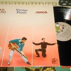 Discos de vinilo: JUAN PARDO,VICTOR PONTI,JUNIOR LP HISTORIA DEL POP. Lote 87270227