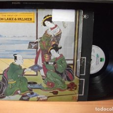 Discos de vinilo: EMERSON LAKE & PALMER LP THE BEST OF ARIOLA ESPAÑA 1981 . Lote 87271236