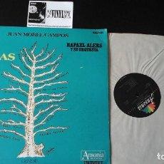 Discos de vinilo: ?RAFAEL ALERS Y SU ORQUESTA - DANZAS VOL 7 JUAN MOREL CAMPOS LP ANSONIA EDICIÓN PUERTO RICO. Lote 87277104