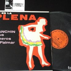 Discos de vinilo: ?ASÍ ES LA PLENA POR JUANCHÍN Y SUS PLENEROS DEL PALMAR · LP TROPICAL EDICIÓN PUERTO RICO. Lote 87277128