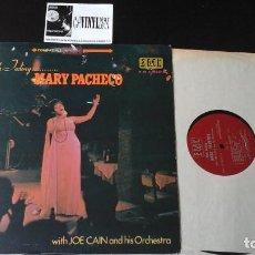 Discos de vinilo: ?MARY PACHECO.- WITH FEELING. WITH JOE CAIN AND HIS ORCHESTRA LP EDICIÓN SUDAMERICA. Lote 87277296