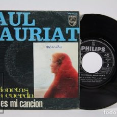 Discos de vinilo: DISCO SINGLE DE VINILO - PAUL MAURIAT. MARIONETAS EN LA CUERDA / AMOR ES MI CANCIÓN - PHILIPS, 1967. Lote 87307892