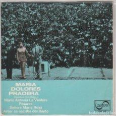 Disques de vinyle: MARIA DOLORES PRADERA / MARIA ANTONIA LA VENTERA + 3 (EP 1969). Lote 87308412