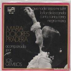 Disques de vinyle: MARIA DOLORES PRADERA / QUE NADIE SEPA MI SUFRIR + 3 (EP 1970). Lote 87308944