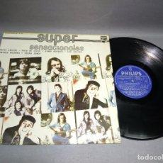 Discos de vinilo: 1018- SUPER SENSACIONALES RECOPILATORIO -VINILO LP - PORTADA VG + / DISCO VG +. Lote 87309856