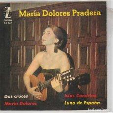 Disques de vinyle: MARIA DOLORES PRADERA / DOS CRUCES + 3 (EP 1962). Lote 87310284