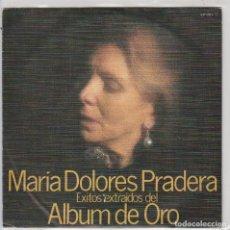 Disques de vinyle: MARIA DOLORES PRADERA (ALBUM DE ORO) LA FLOR DE LA CANELA + 3 (EP PROMO 1980). Lote 87310972