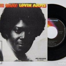 Discos de vinilo: DISCO SINGLE DE VINILO - DOBIE GRAY. LOVIN' ARMS - MCA RECORDS, 1974. Lote 87311700