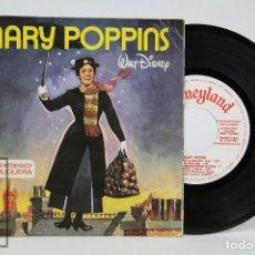 Discos de vinilo: DISCO EP DE VINILO / CUENTO - MARY POPPINS - CUENTODISCO BRUGUERA Nº 15 - WALT DISNEY, 1967. Lote 87318676