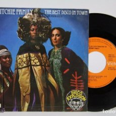 Discos de vinilo: DISCO SINGLE DE VINILO - THE RITCHIE FAMILY. THE BEST DISCO IN TOWN - DISCO EXPLOSION / RCA, 1976. Lote 87319756