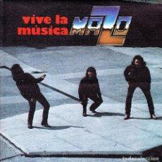 Discos de vinilo: MAZO - VIVE LA MUSICA (PARTE I)+(PARTE II) SINGLE SPAIN 1982 EXCELLENT CONDITION. Lote 182960542